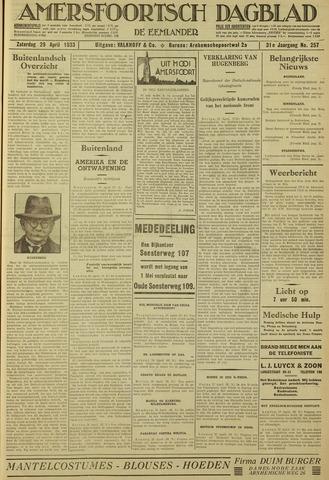 Amersfoortsch Dagblad / De Eemlander 1933-04-29