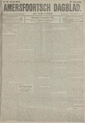 Amersfoortsch Dagblad / De Eemlander 1913-08-09