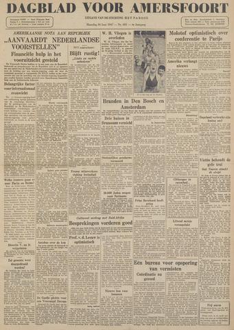 Dagblad voor Amersfoort 1947-06-30
