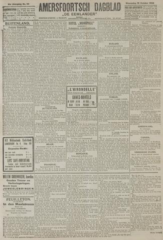 Amersfoortsch Dagblad / De Eemlander 1922-10-18