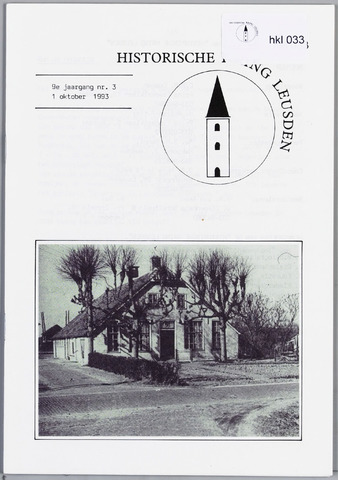 Historische Kring Leusden 1993-10-01