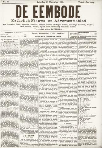 De Eembode 1896-11-28