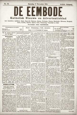 De Eembode 1894-11-17