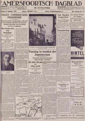 Amersfoortsch Dagblad / De Eemlander 1937-09-24