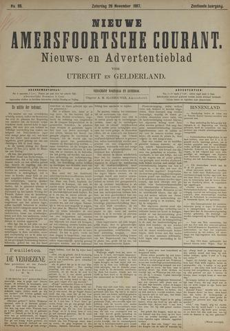 Nieuwe Amersfoortsche Courant 1887-11-26
