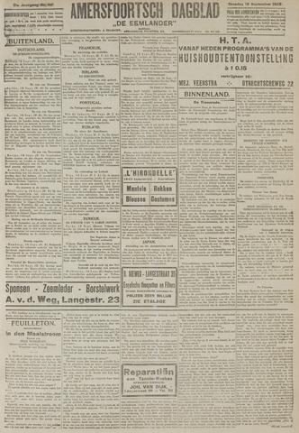 Amersfoortsch Dagblad / De Eemlander 1922-09-19