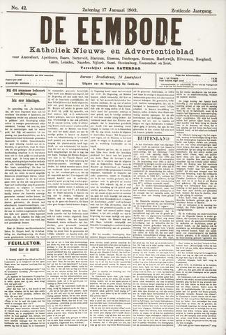 De Eembode 1903-01-17