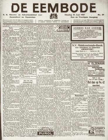 De Eembode 1927-06-21