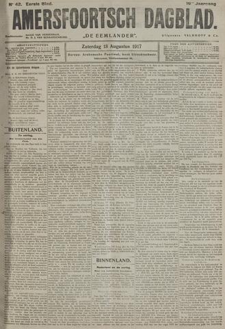 Amersfoortsch Dagblad / De Eemlander 1917-08-18