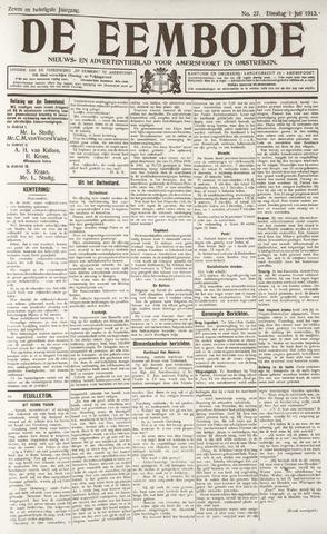 De Eembode 1913-07-01