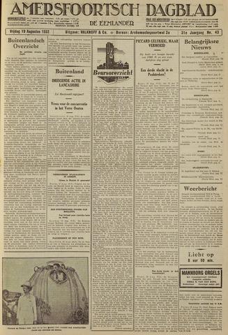 Amersfoortsch Dagblad / De Eemlander 1932-08-19