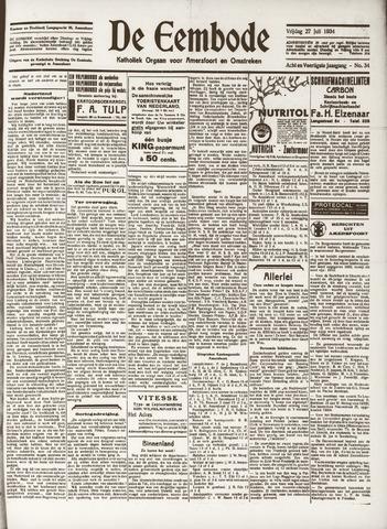 De Eembode 1934-07-27