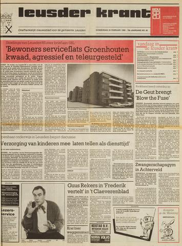Leusder Krant 1988-02-25