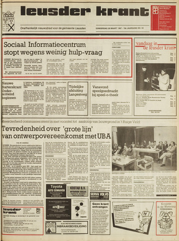 Leusder Krant 1987-03-26