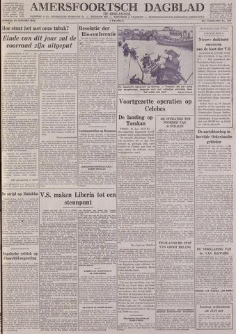 Amersfoortsch Dagblad / De Eemlander 1942-01-27