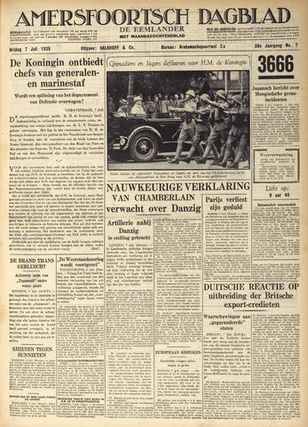 Amersfoortsch Dagblad / De Eemlander 1939-07-07