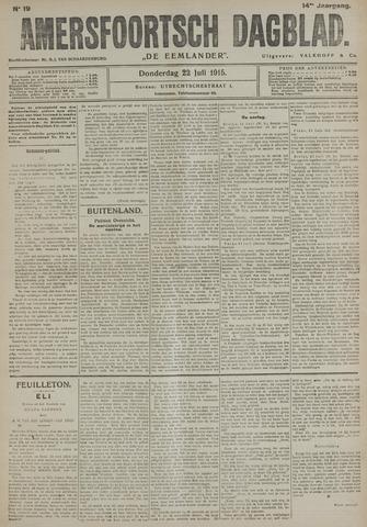 Amersfoortsch Dagblad / De Eemlander 1915-07-22
