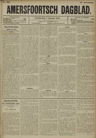 Amersfoortsch Dagblad 1907-01-03