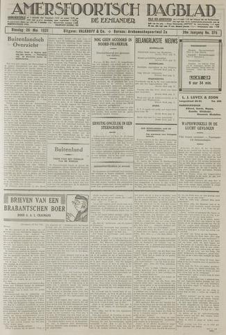Amersfoortsch Dagblad / De Eemlander 1931-05-26