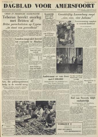 Dagblad voor Amersfoort 1951-06-20