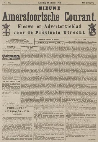 Nieuwe Amersfoortsche Courant 1914-03-28