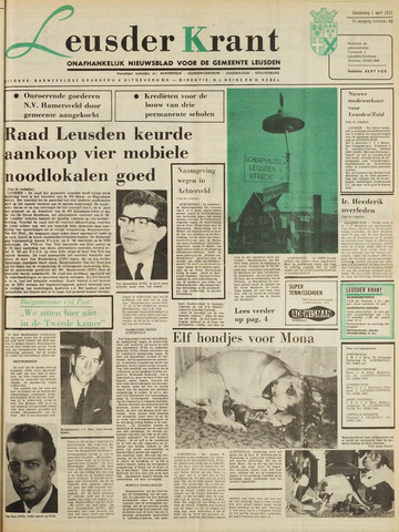 Leusder Krant 1971-04-01