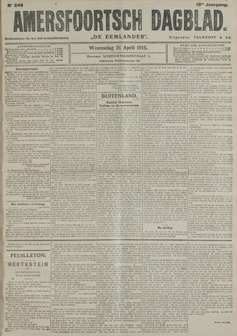 Amersfoortsch Dagblad / De Eemlander 1915-04-21