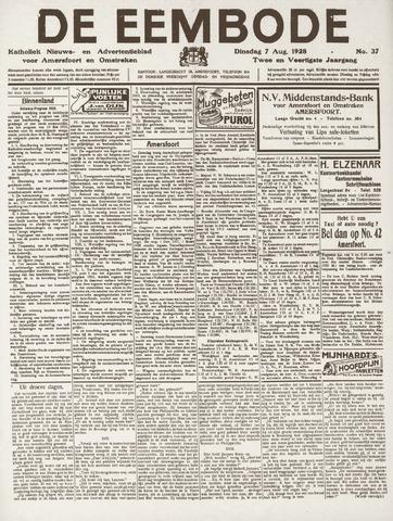 De Eembode 1928-08-07
