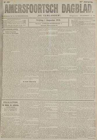 Amersfoortsch Dagblad / De Eemlander 1913-08-01