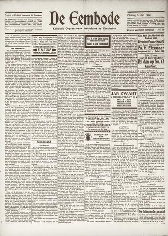 De Eembode 1932-05-31