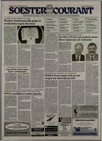 Soester Courant 2000-08-23