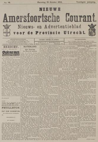 Nieuwe Amersfoortsche Courant 1911-10-28