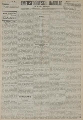 Amersfoortsch Dagblad / De Eemlander 1919-10-01