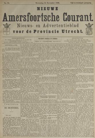 Nieuwe Amersfoortsche Courant 1896-11-25