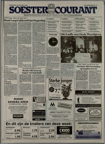 Soester Courant 2000-10-25