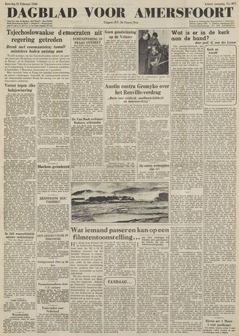 Dagblad voor Amersfoort 1948-02-21