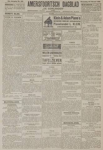 Amersfoortsch Dagblad / De Eemlander 1925-02-25