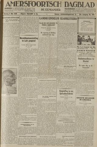 Amersfoortsch Dagblad / De Eemlander 1930-05-06