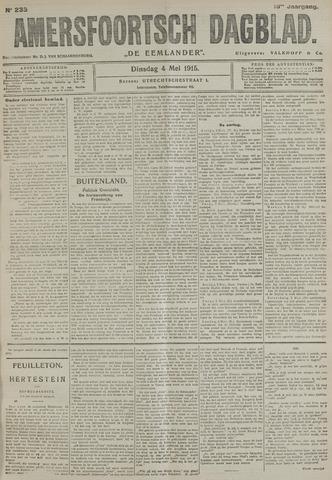 Amersfoortsch Dagblad / De Eemlander 1915-05-04