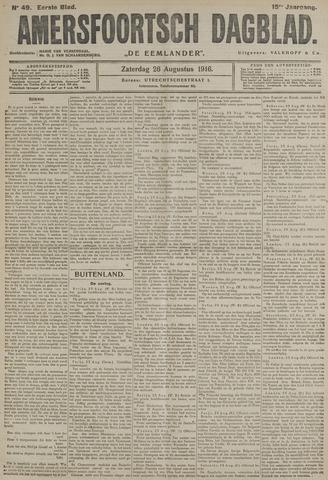 Amersfoortsch Dagblad / De Eemlander 1916-08-26