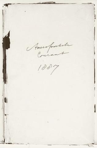 Amersfoortsche Courant 1887