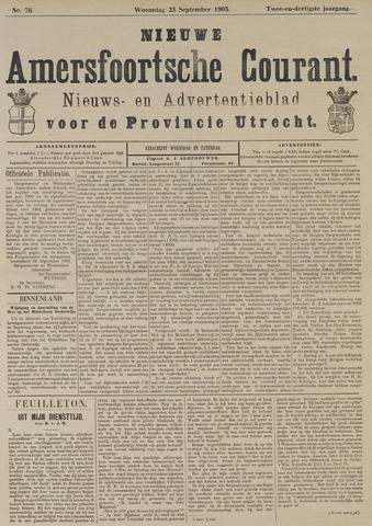 Nieuwe Amersfoortsche Courant 1903-09-23