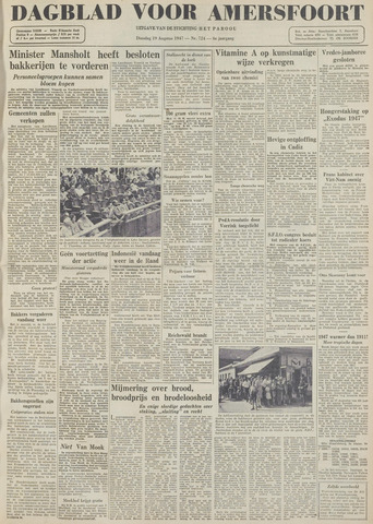 Dagblad voor Amersfoort 1947-08-19
