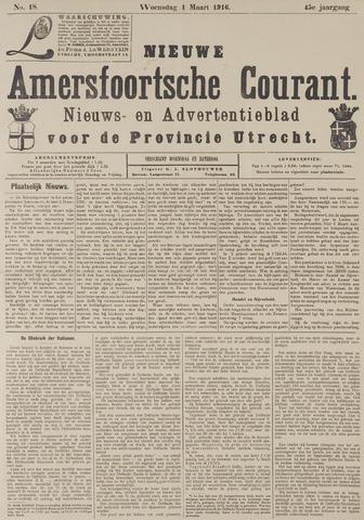 Nieuwe Amersfoortsche Courant 1916-03-01