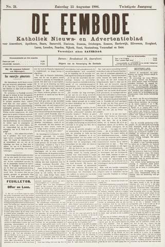De Eembode 1906-08-25