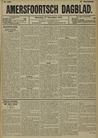 Amersfoortsch Dagblad 1905-11-27
