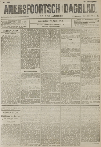 Amersfoortsch Dagblad / De Eemlander 1913-04-16