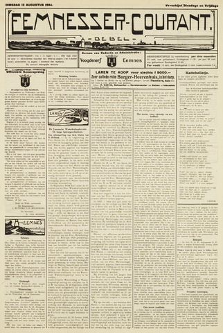 Eemnesser Courant 1924-08-12