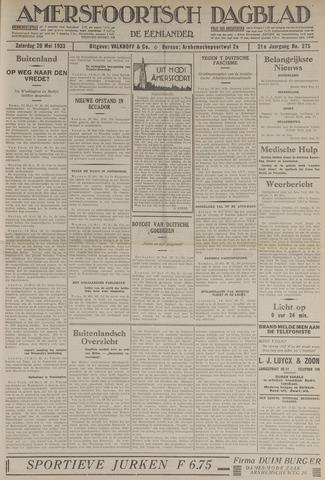Amersfoortsch Dagblad / De Eemlander 1933-05-20