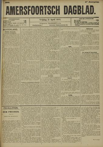 Amersfoortsch Dagblad 1905-04-21